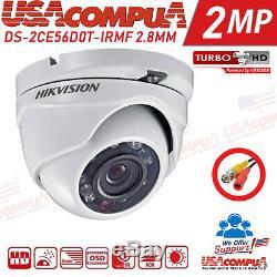 Système De Sécurité Hikvision Kit 4 Caméras 4ch Turbo Hd Dvr 1080p Lite (1 To Hdd)