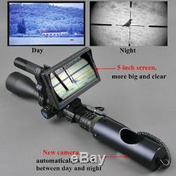Tactique De Vision Nocturne Riflescope Chasse Portée Adaptateur Numérique Infrarouge Thermique
