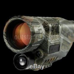 Tactique Militaire Infrarouge Numérique Monoculaire Hd Vision Puissante Nuit Telescope