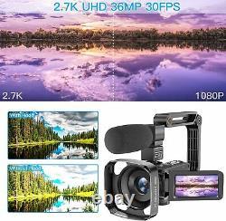 Uhd 36mp Ir Night Vision Digital Zoom Recorder Équipement De Chasse Fantôme