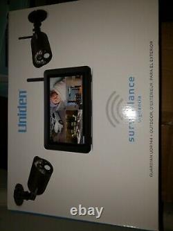 Uniden Udr744hd Guardian Hd Wireless Video Surveillance System With Night Vision
