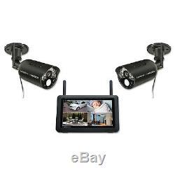 Uniden Udr777hd Sans Fil Système De Surveillance Avec 7 Moniteur 2 Hd 1080p Caméras
