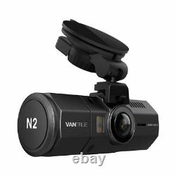 Vantrue N2 64go Bundle Package Dual Dash Cam, Gps, Hardwire Kit, Samsung Sdxc