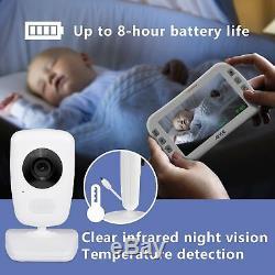 Vidéo Baby Monitor + 2 Caméras 5 Écran Lcd, Vision Nocturne Axvue E632 (nouveau)