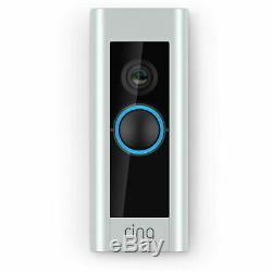 Video Ring Sonnette Pro Wi-fi De La Caméra Hd Wired Night Vision Intelligente Hd Nouveau