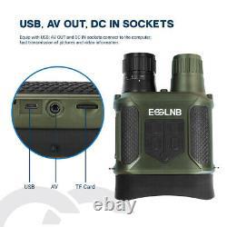 Vidéo Vidéo De Caméra Ir Binoculaire 7x31 Avec 2 Portée De Chasse LCD 400m/1300ft