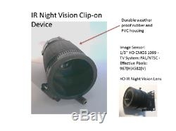 Vision Nocturne Clipser Numérique Réticules 1000r