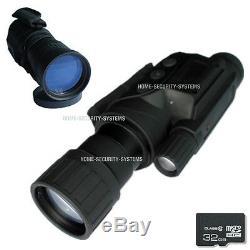 Vision Nocturne Monocular Digital Nv Chasse Tracker Tracker De Sécurité Gen