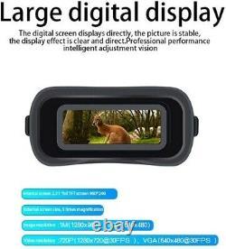 Visore Notturno Hd-digital Night Vision Binocolo 400m Registrazione Video/foto
