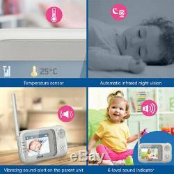 Vtech 2.8 Vidéo / Audio Pan / Tilt Montable Sécurité Night Vision Bébé / Enfants Moniteur