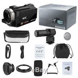 Wifi 4k 1080p Hd 48mp 16x Caméscope Caméra Vidéo Numérique DV De Vision Nocturne