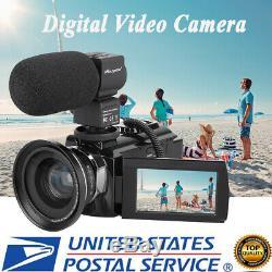 Wifi 4k Ultra Hd 48mp 3 Caméscope Numérique Caméra Vidéo DV Avec Vision Nocturne Ir