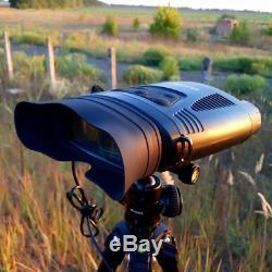 Wildgameplus Nv200c Vision Nocturne Infrarouge Télescope Jumelles 7x21 Zoom Numérique