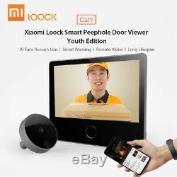 Xiaomi Loock 7 Ips Intelligent Judas Pour Porte 720p Vision Nocturne Rechargeable