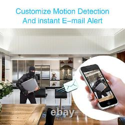 Zoohi 8ch 1080p Extérieur Wireless Security Camera System 1080p Wifi Nvr Accueil Cctv